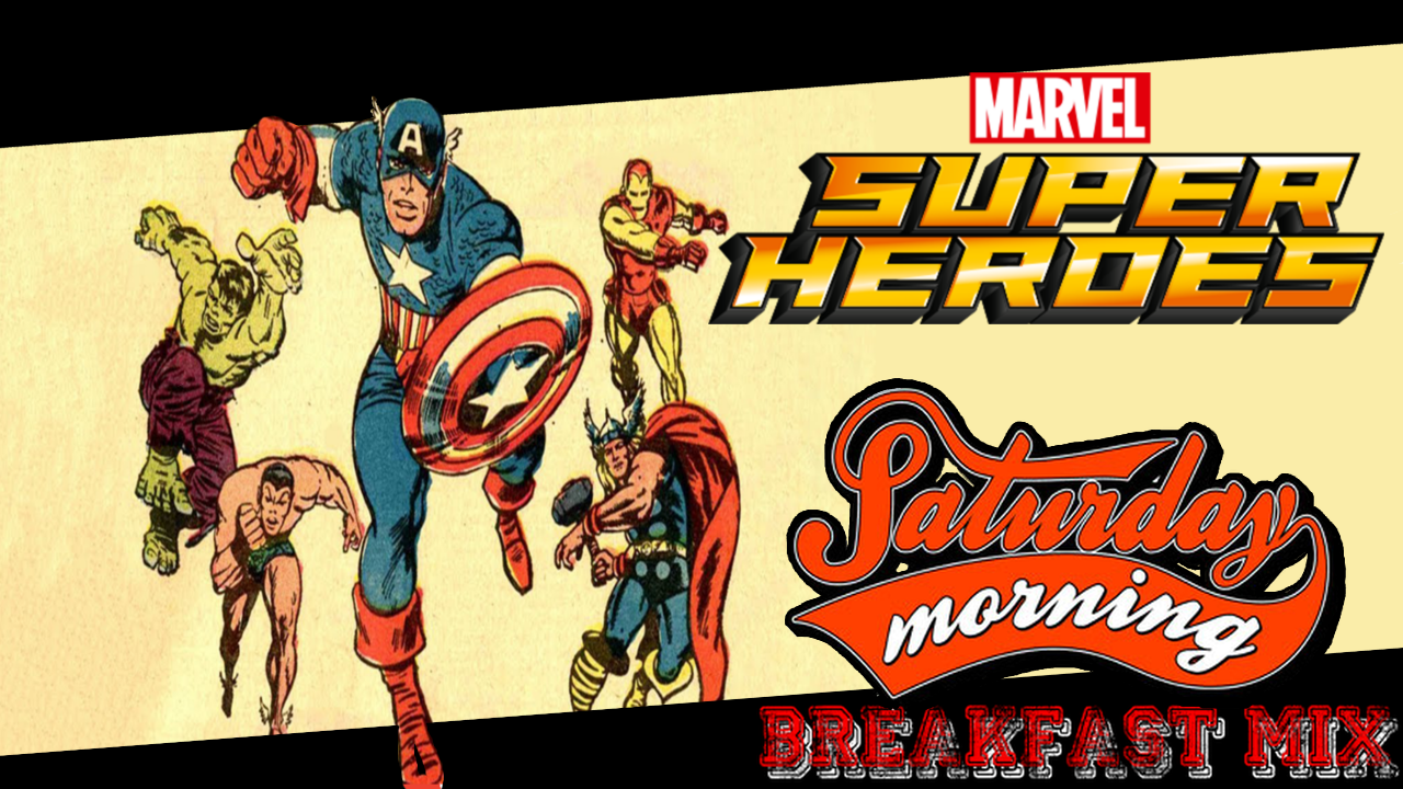 The Saturday Morning Breakfast Mix – The Marvel Super Heroes (1966)