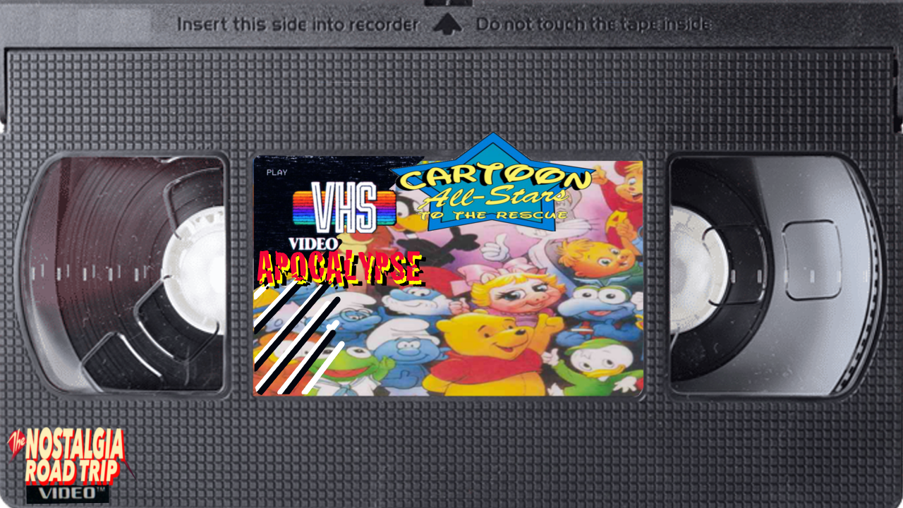 VHS Video Apocalypse: 'Cartoon All Stars to the Rescue' Video Commentary