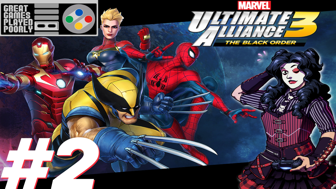 Great Games Played Poorly: Marvel Ultimate Alliance 3 – The Black Order (Part 2)