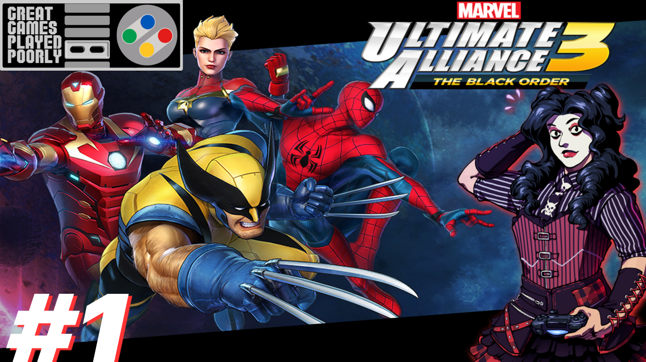 Great Games Played Poorly: Marvel Ultimate Alliance 3 – The Back Order