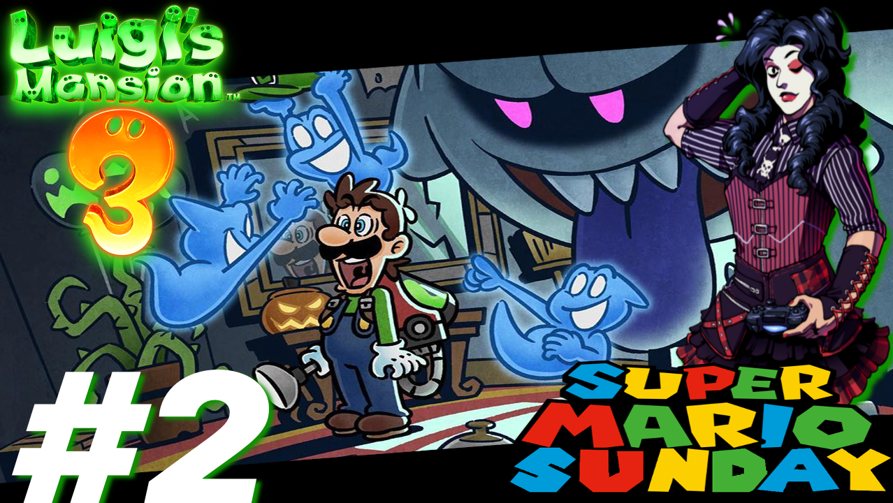 Super Mario Sunday: Luigi's Mansion 3 (Part 2)